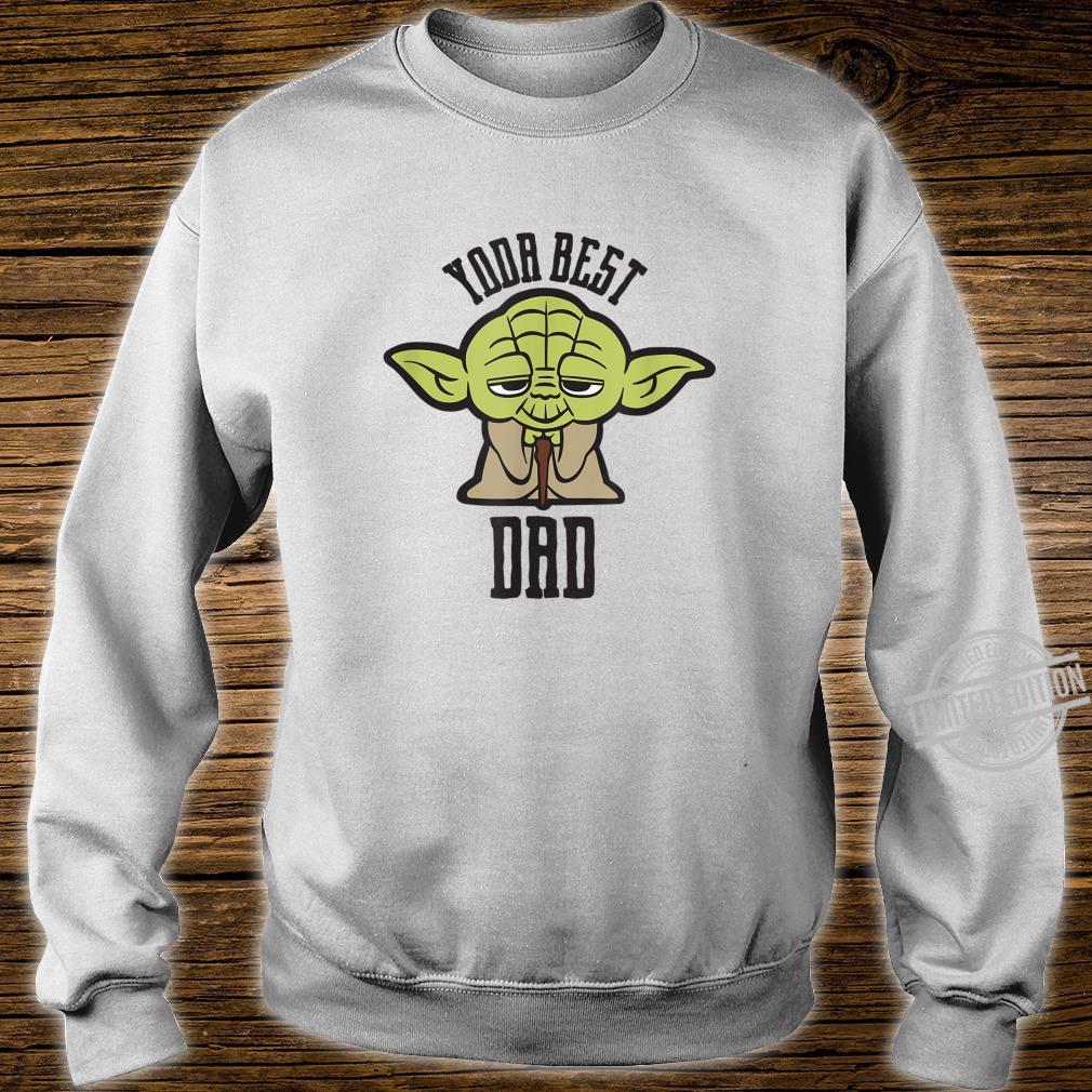 Star Wars Kawaii Yoda Best Dad Father's Day Shirt sweater