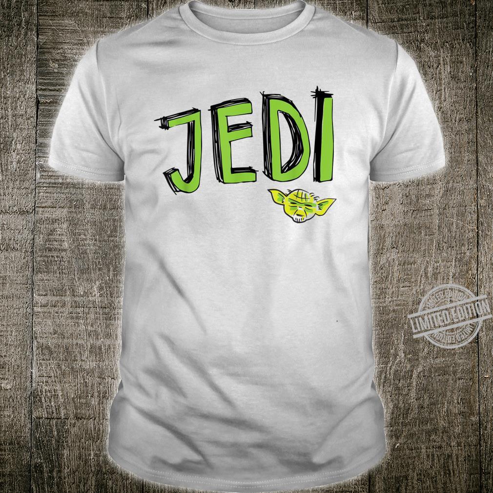 Star Wars Yoda Scribble Shirt