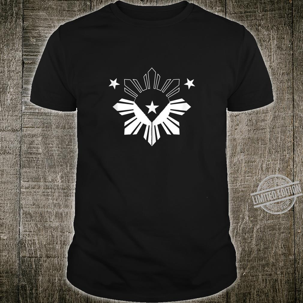 Stars and a Sun Philippine Flag Pinoy Shirt