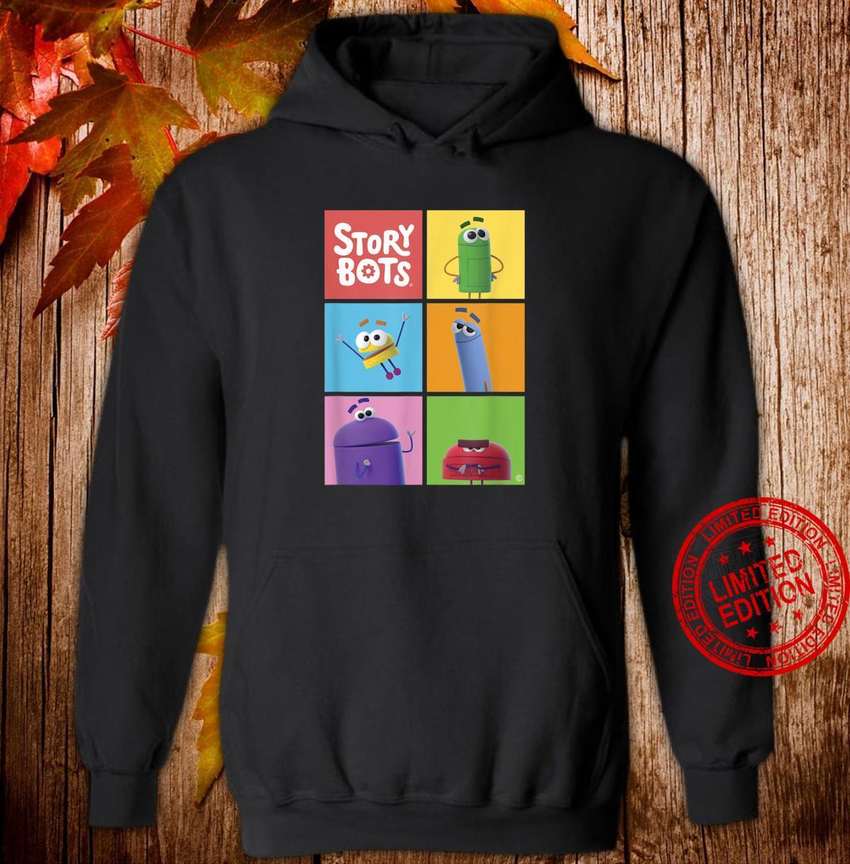StoryBots Group Shot Panels Shirt hoodie