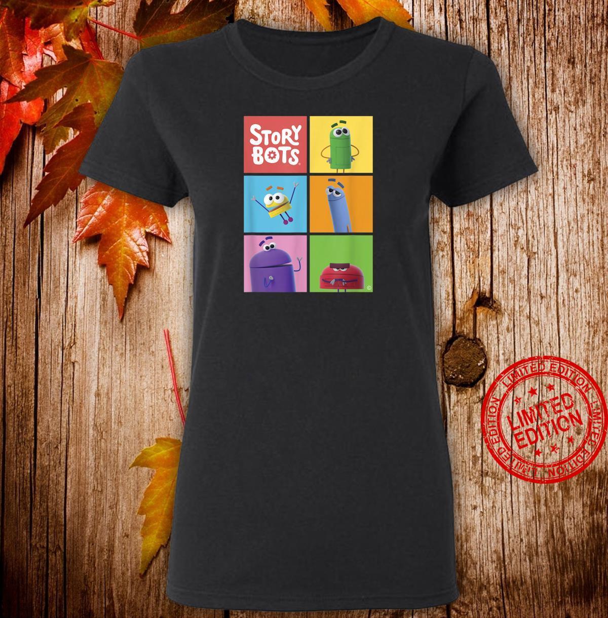 StoryBots Group Shot Panels Shirt ladies tee