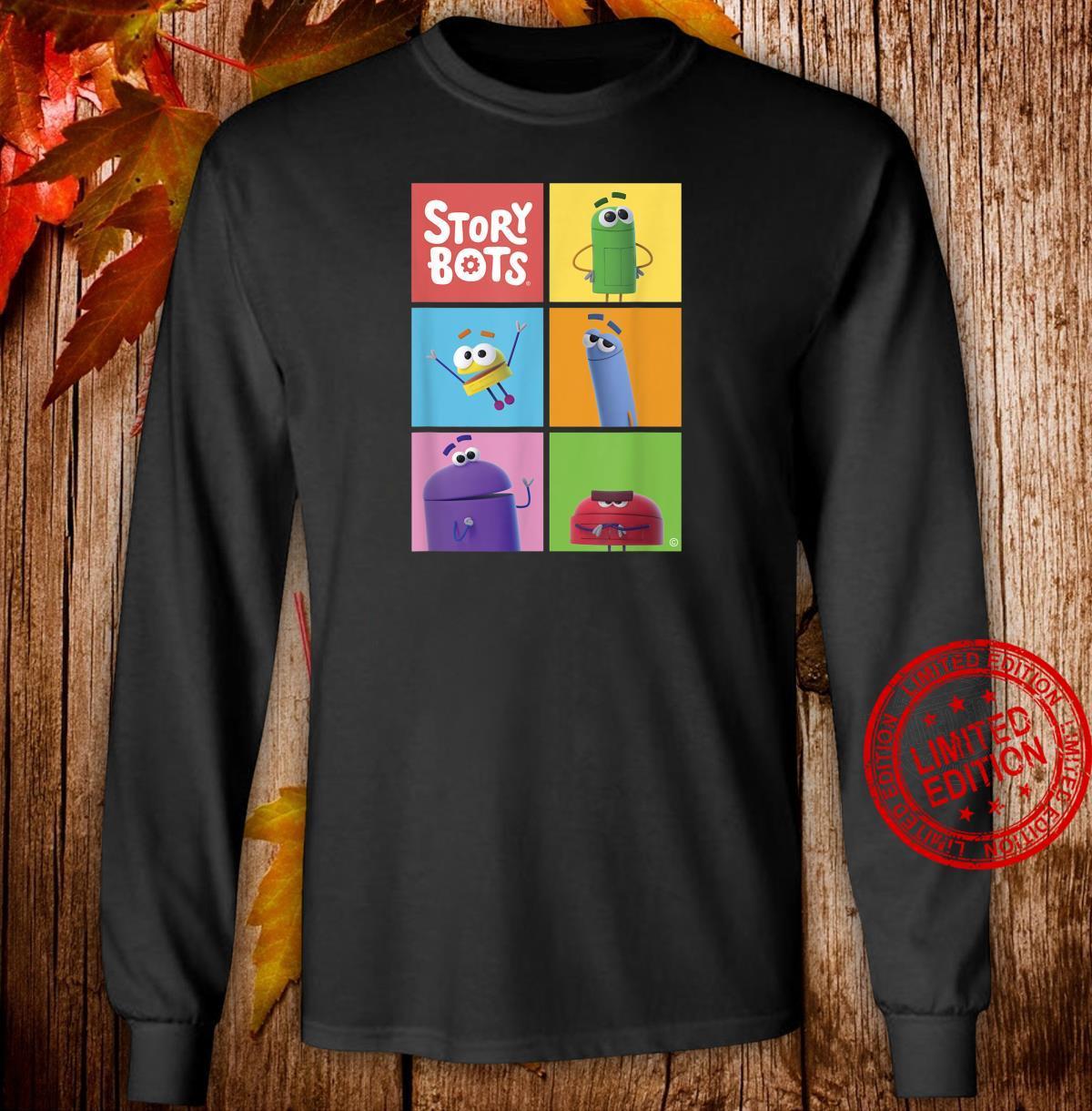 StoryBots Group Shot Panels Shirt long sleeved