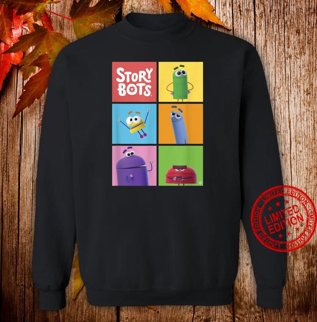 StoryBots Group Shot Panels Shirt sweater