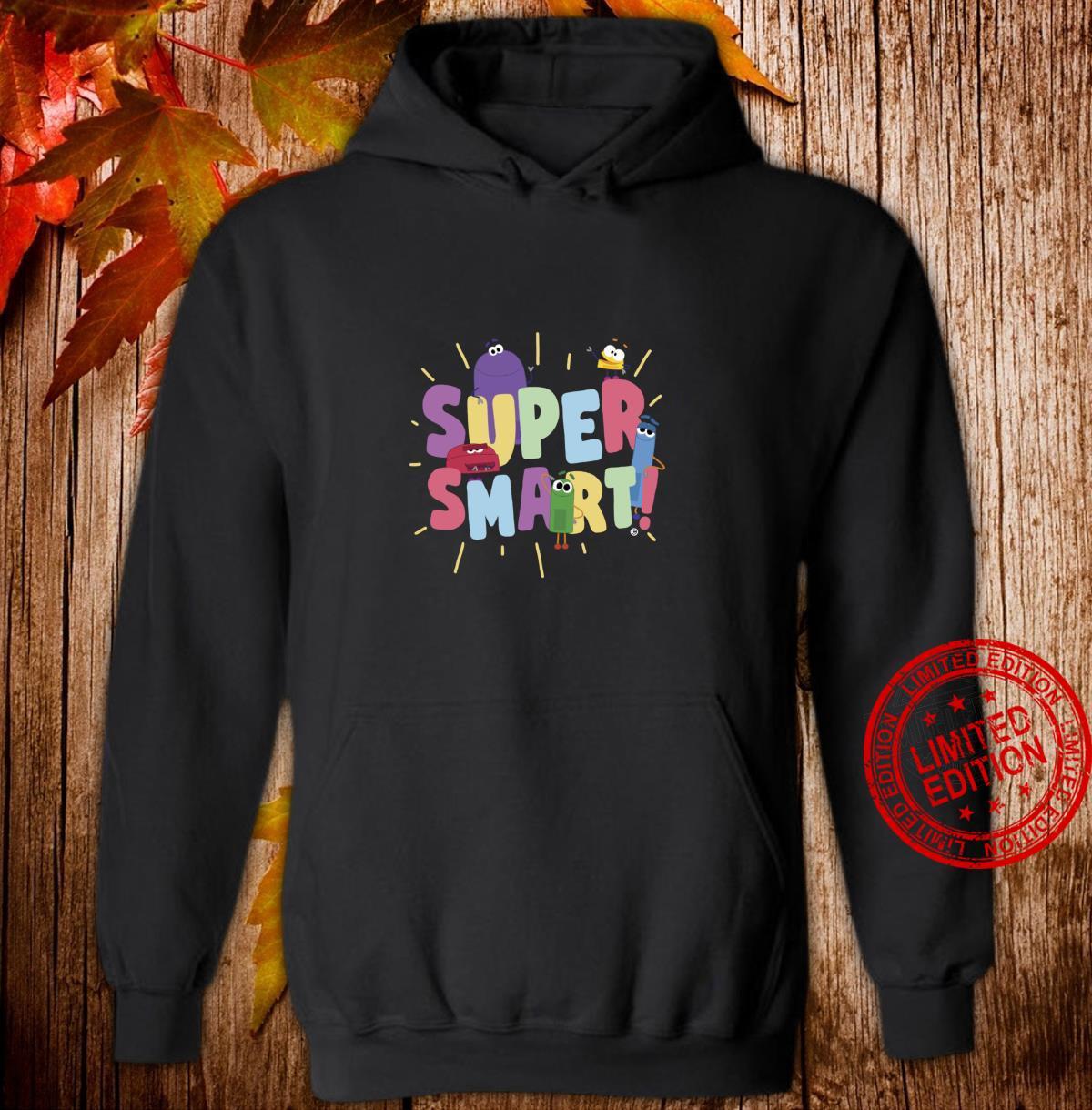 StoryBots Super Smart Shirt hoodie
