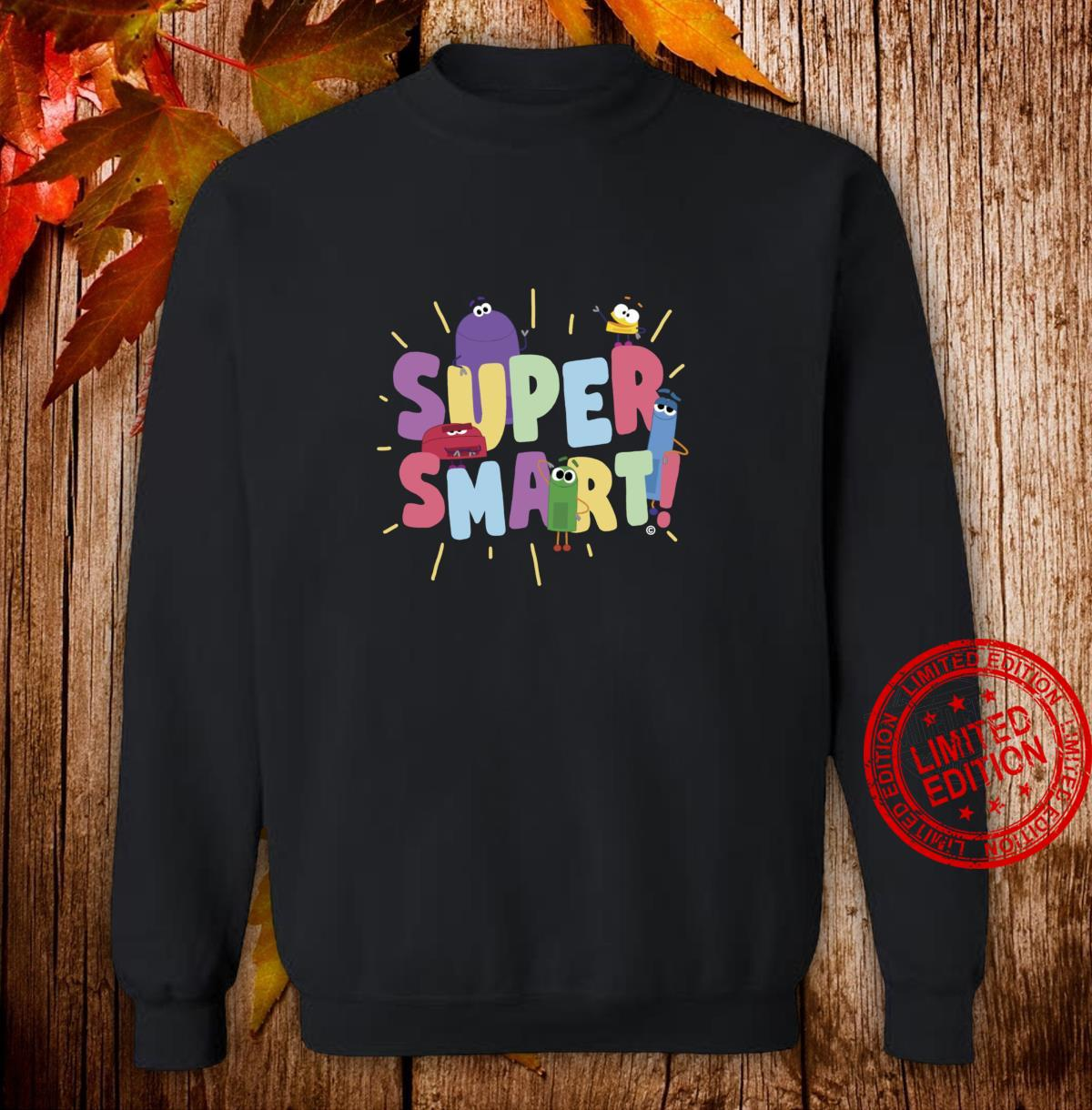 StoryBots Super Smart Shirt sweater