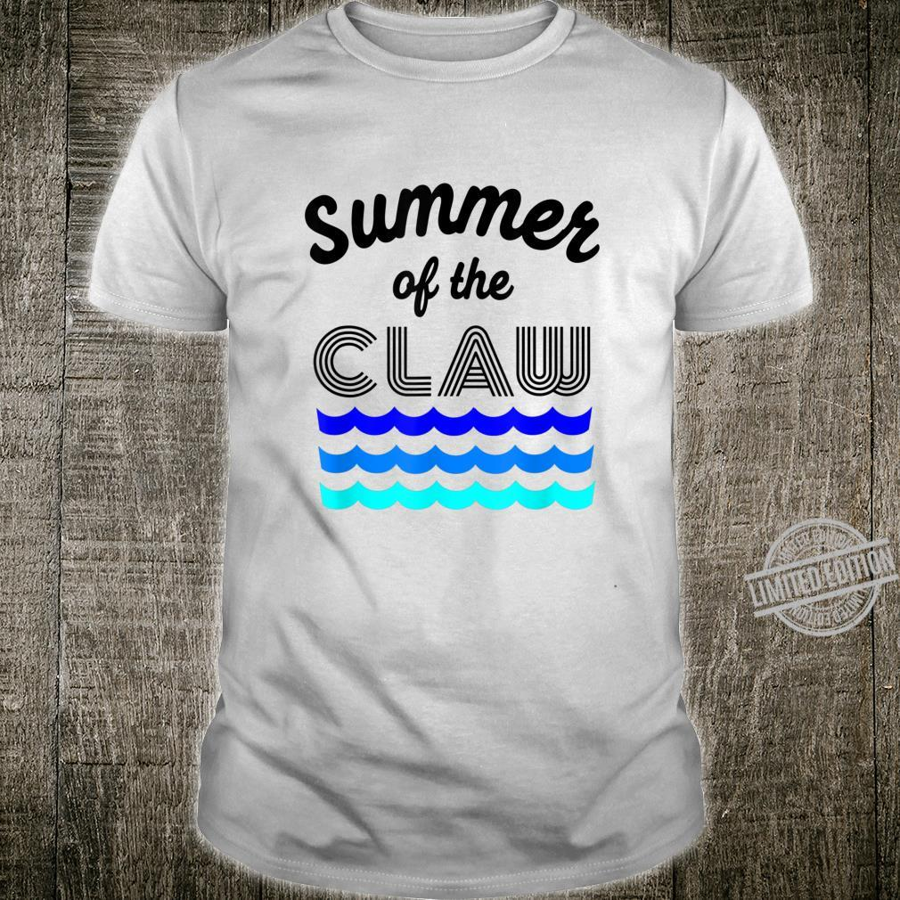 Summer of the Claw Ain't No Laws Hard Seltzer Boating Shirt