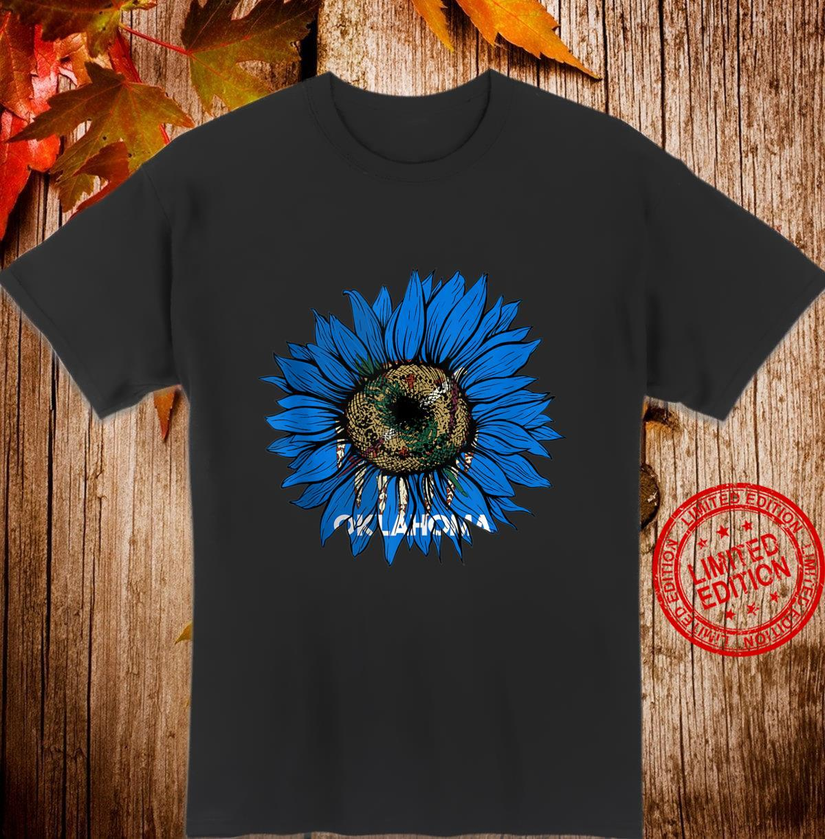 Sunflower Oklahoma flag Oklahoma flag Sunflower Shirt