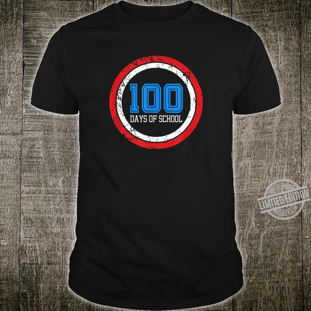 Superhero 100 Days of School Shirt
