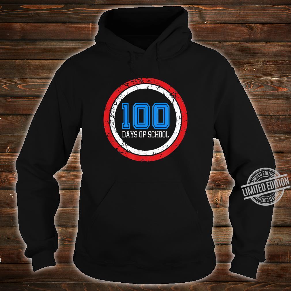 Superhero 100 Days of School Shirt hoodie