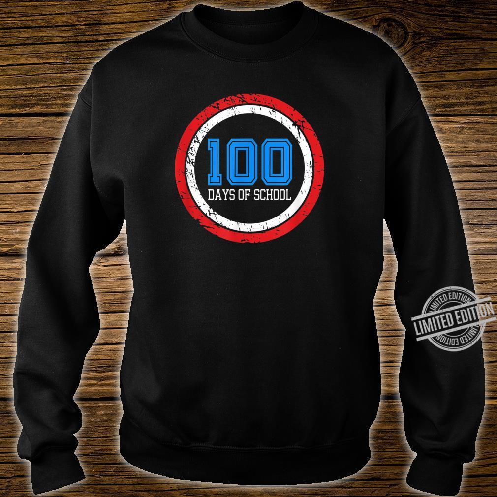 Superhero 100 Days of School Shirt sweater