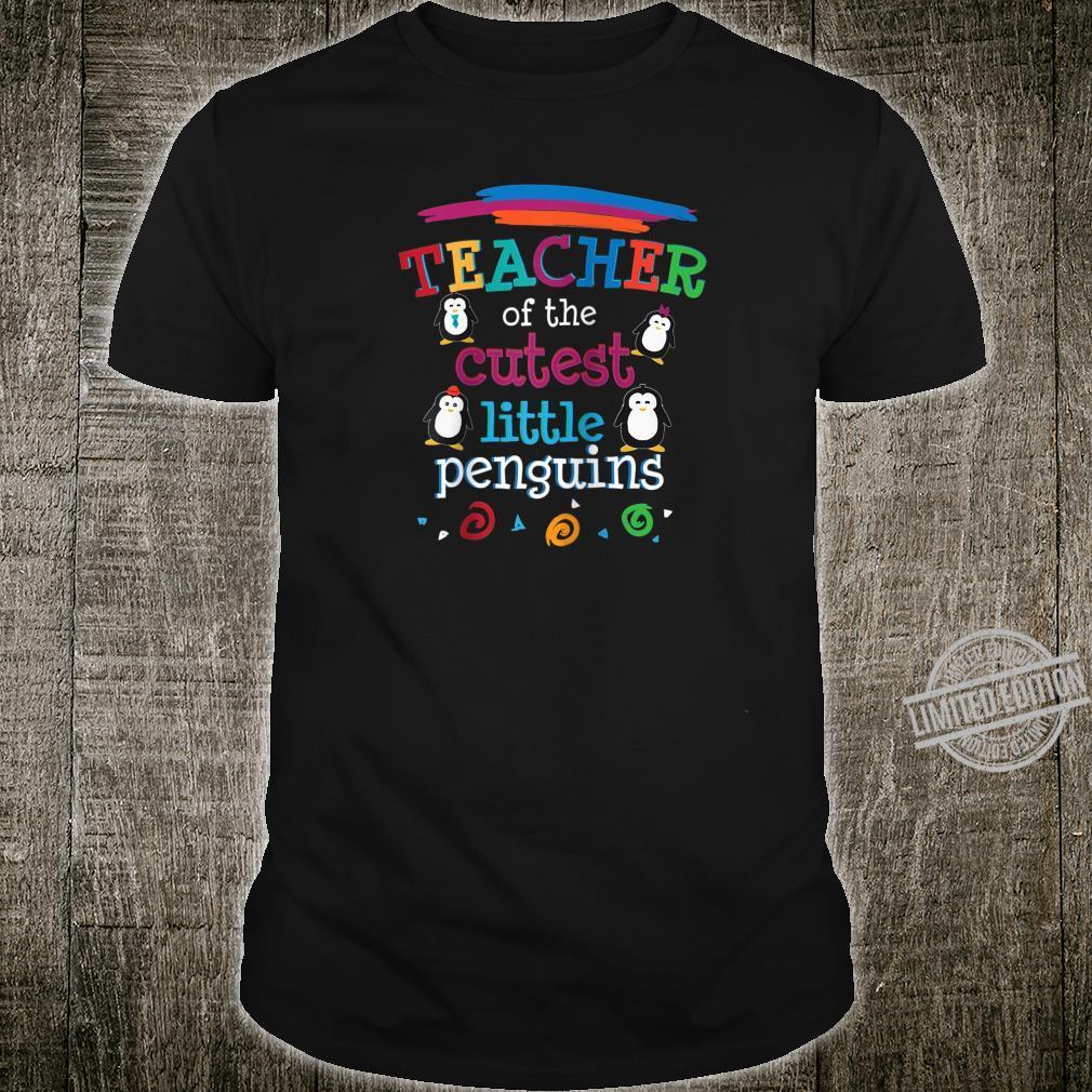 Teacher Cutest Little Penguins End of Year Preschool Shirt