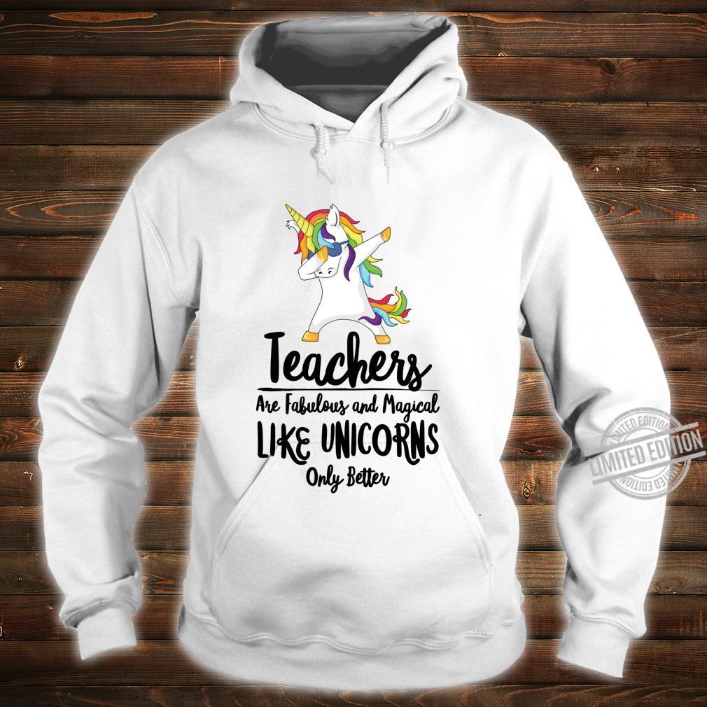 Teacher Unicorn School Therapist Counselor Teaching Student Shirt hoodie