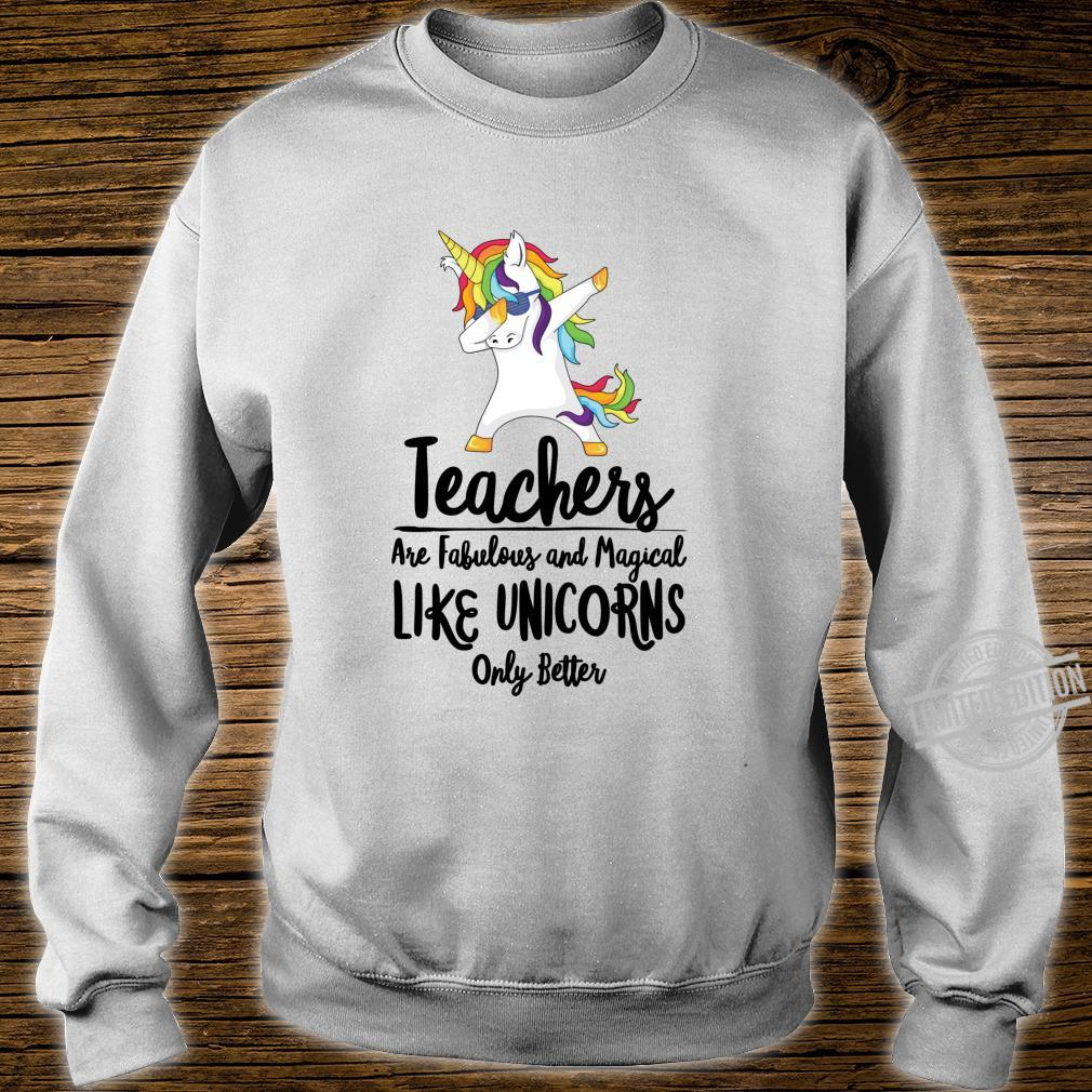 Teacher Unicorn School Therapist Counselor Teaching Student Shirt sweater
