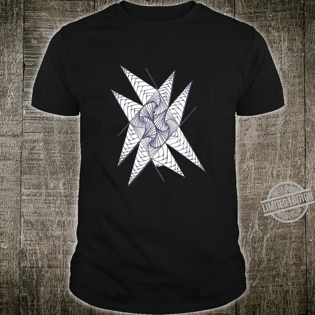 Tee with a geometric design for everyday wear...anywhere Shirt
