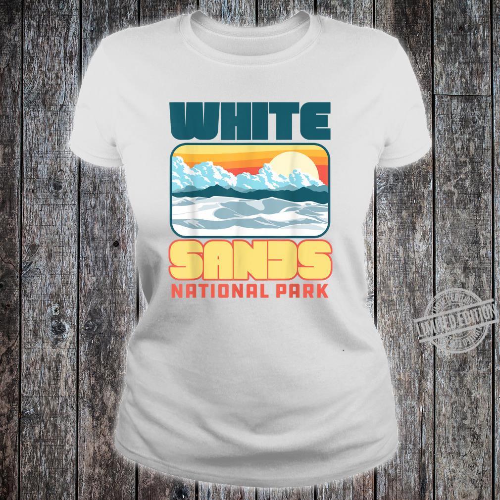 Vintage White Sand National Park Retro 80's Shirt ladies tee