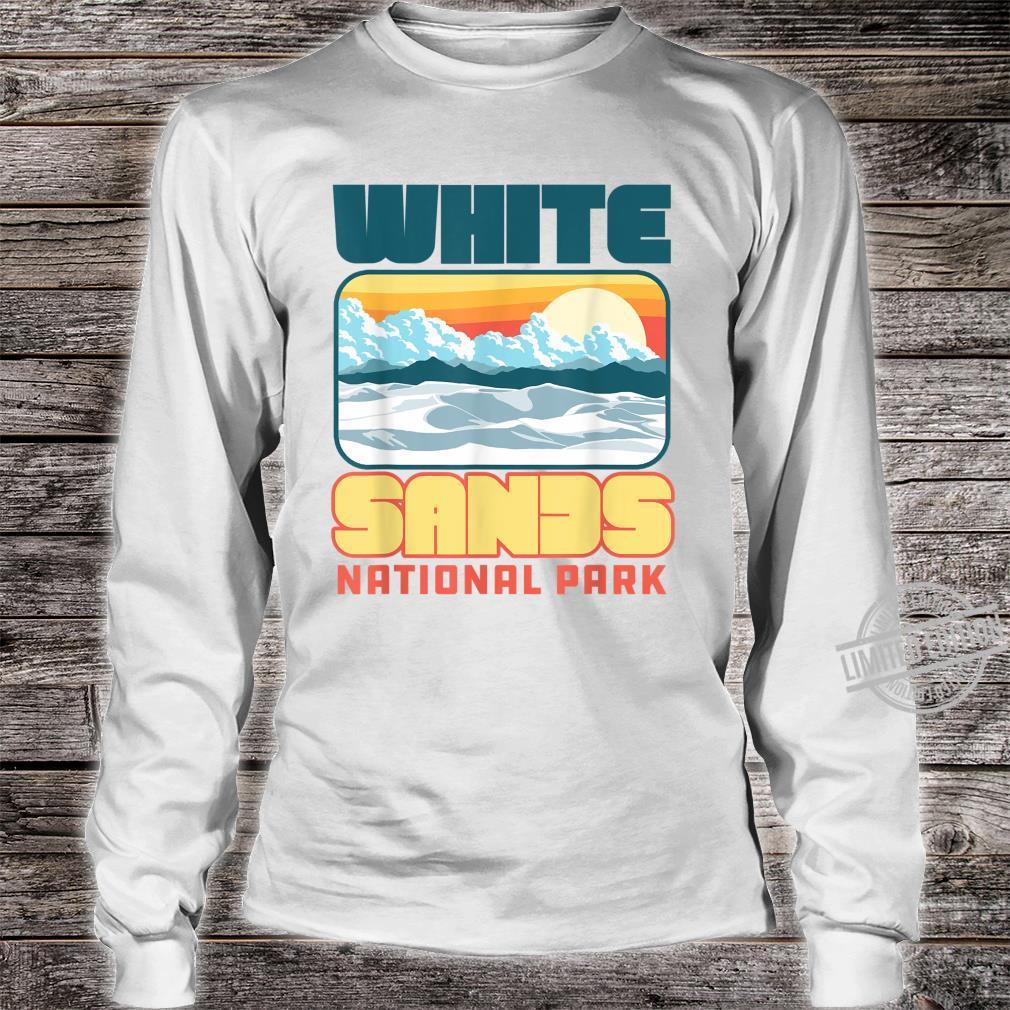 Vintage White Sand National Park Retro 80's Shirt long sleeved
