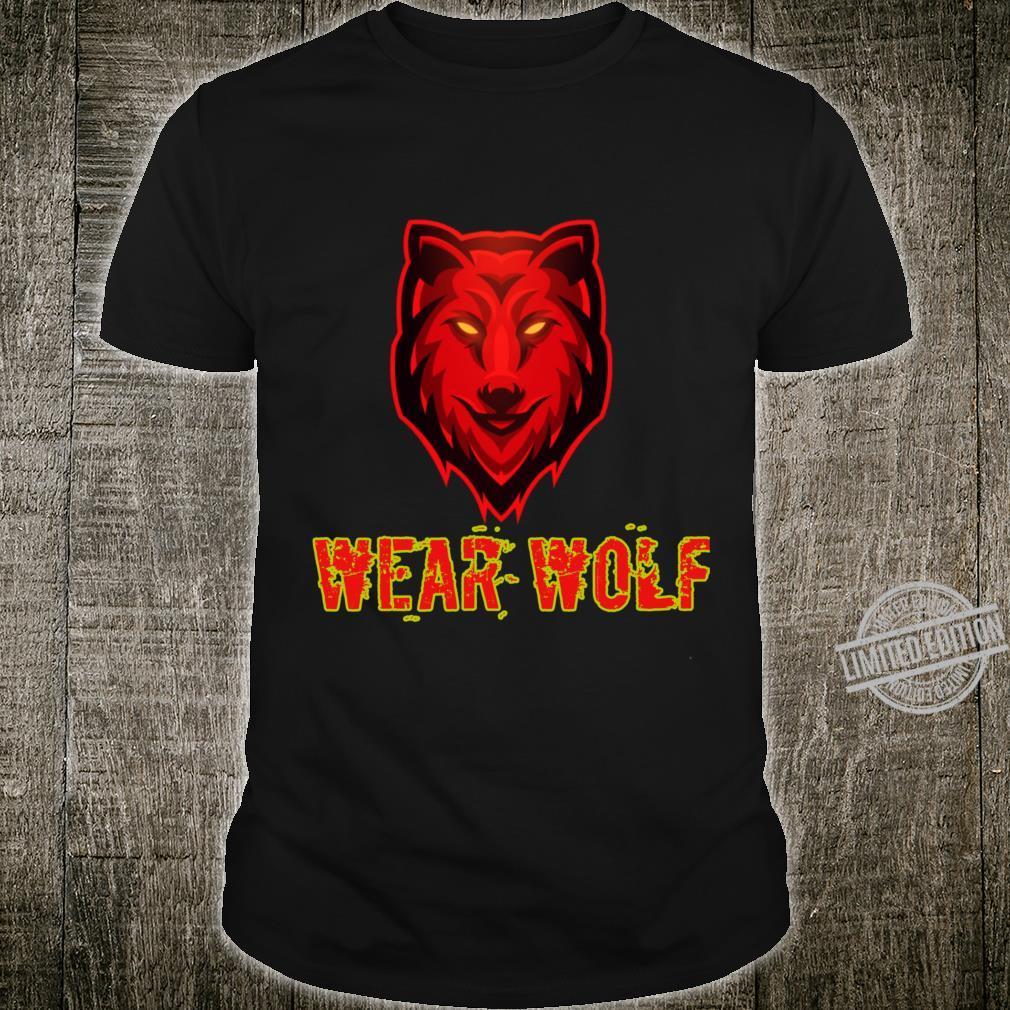 Wear wolf Shirt