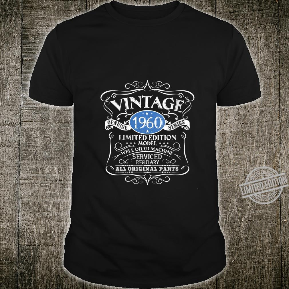 Womens Vintage 1960 60th Birthday All Original Parts Shirt