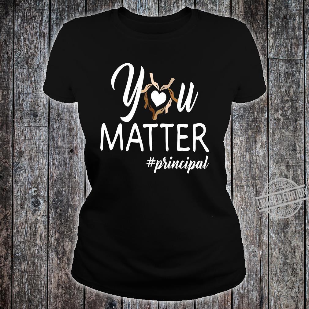 You matte #principal shirt ladies tee