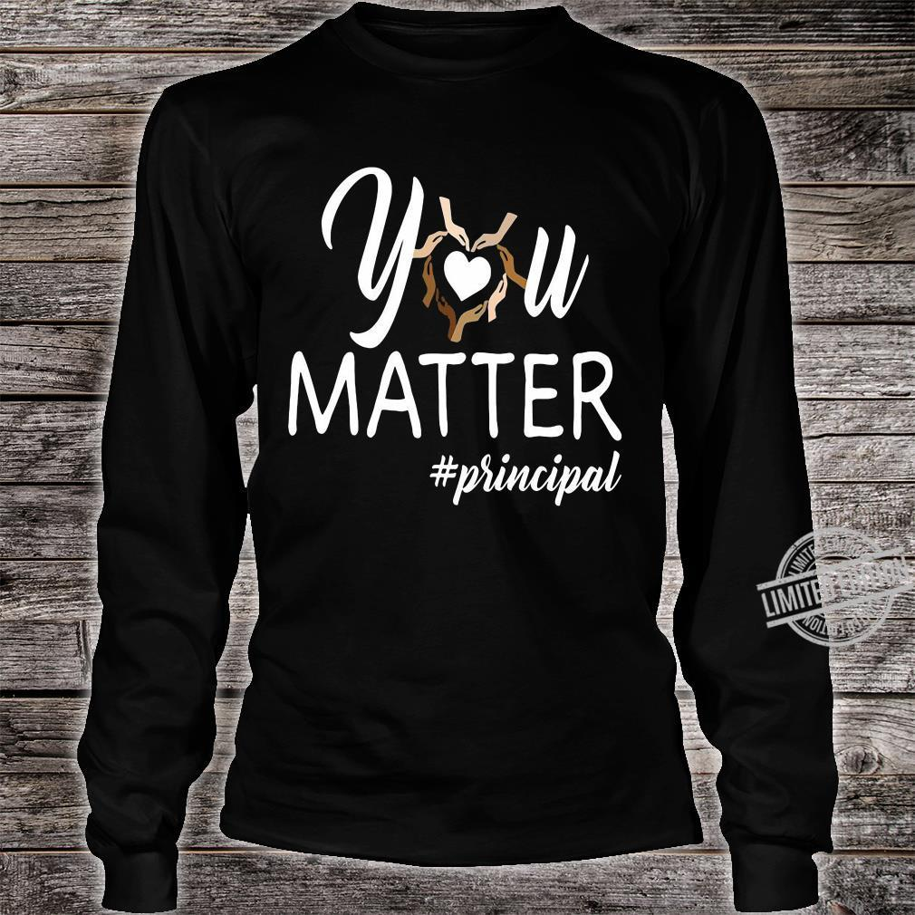 You matte #principal shirt long sleeved