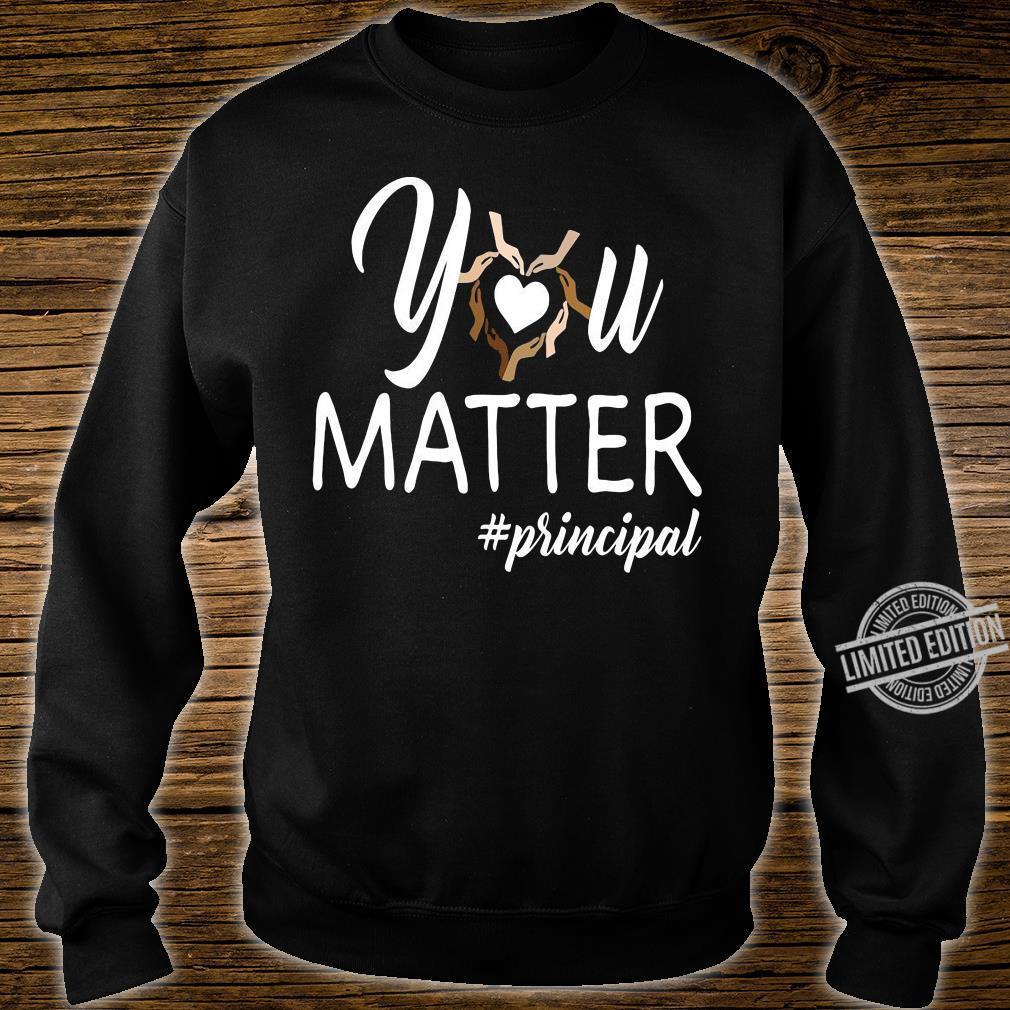 You matte #principal shirt sweater